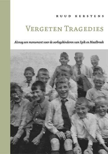 cover Vergeten Tragedies, Ruud Kersten